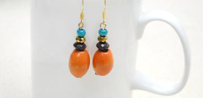 2 Steps to Make Drop Style Dangle Earrings for Beginners