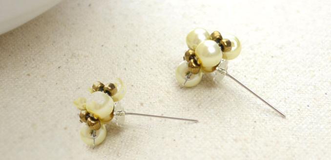 How do You Make Handmade Pearl Stud Earrings Step by Step
