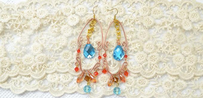 how to make dangle earrings with headpins