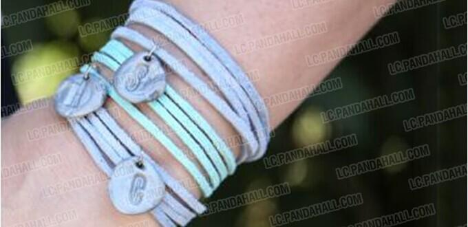 how to make clay bracelets