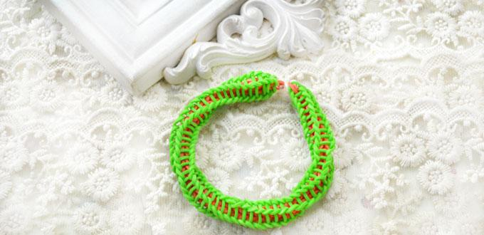 loom rubber rubberband bracelet a tutorial make band it bracelets without
