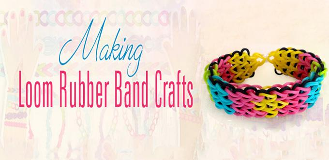 8 Easy Must-do Rubber Band Crafts for Kids
