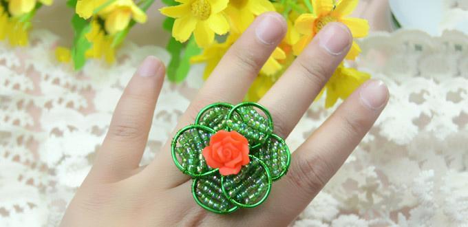 jewelry making, jewelry making tutorial , diy rings , diy