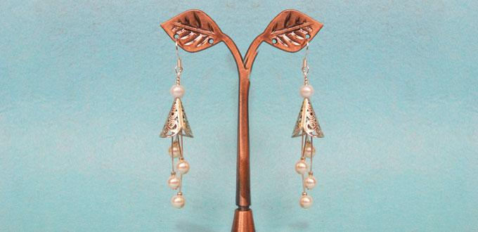 to dangle by silver hand ideas earrings make articles flower handmade how