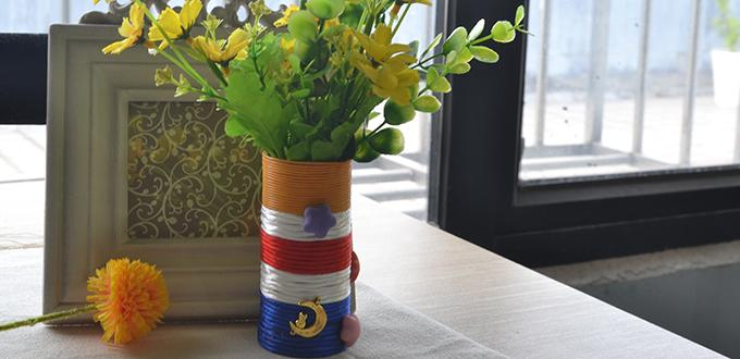 How to DIY Thread Brush Container Craft Ideas for Kids