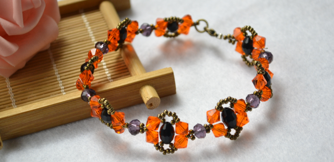 How to bead a vintage bracelet