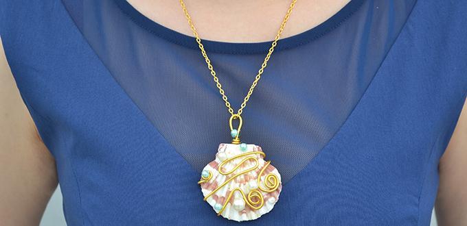 Instructions on how to make a puka shell pendant necklace pandahall instructions on how to make a puka shell pendant necklace aloadofball Gallery