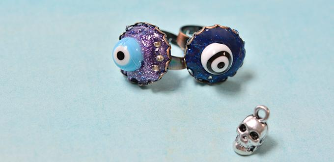 Easy Halloween Crafts for Kids to Make – Stylish Eye Ball Ring