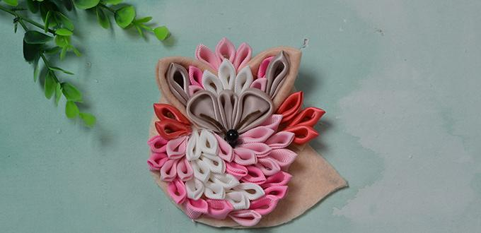 Ribbon Craft Idea For Adults Tutorial On How To Make A Vivid Ribbon