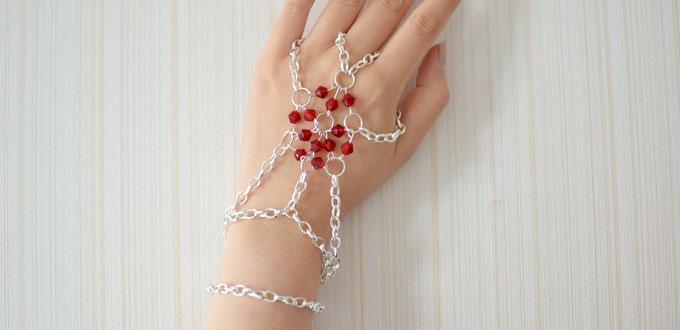 A New Handmade Jewelry Idea - How to Make Bead Chain Bracelets