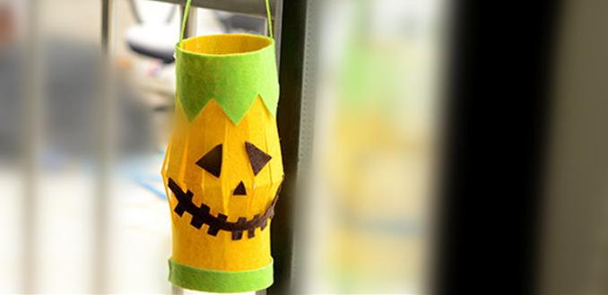 halloween hanging decoration ideas how to make halloween lantern crafts - How To Make Halloween Lanterns