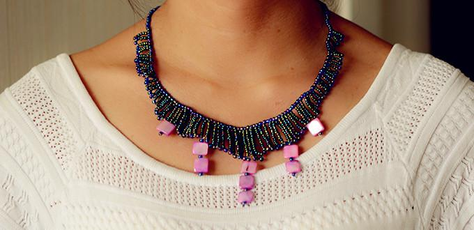 Pandahall Bohemian Jewelry Guide – How to Make a Seed Bead Necklace with Shell Beads Dangles