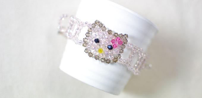 5eb0fbd3f How to Make a Hello Kitty Charm Bead Bracelet for Kids- Pandahall.com