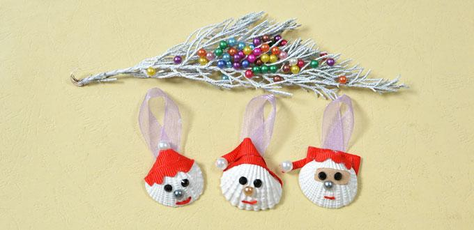 Easy DIY Project - How to Make Christmas Santa Claus Crafts for Kids