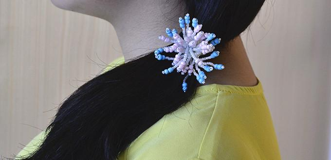 Pandahall Tutorial - How Do You Make Flower Seed Bead Hair Accessories
