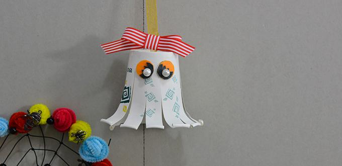 611f97716dcbc How to Make Halloween Paper Cup Octopus Crafts for Kids- Pandahall.com