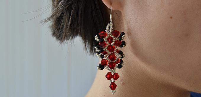bead earring making instructions