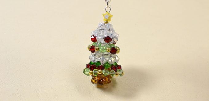 Pandahall's Free Tutorial on How to Make a Beaded Christmas Tree