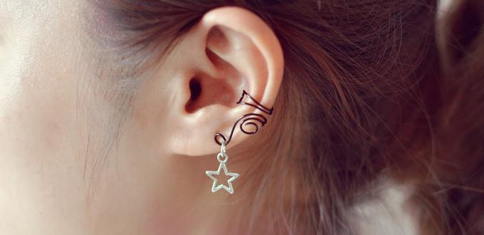 Pandahall Easy Diy Project On How To Make Wire Ear Cuffs For