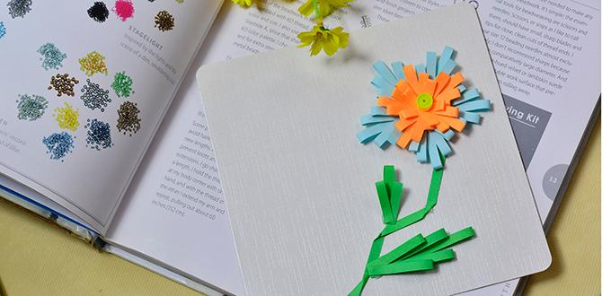 Easy diy cardhow to make quilling flower greeting cards pandahall easy diy cardhow to make quilling flower greeting cards m4hsunfo