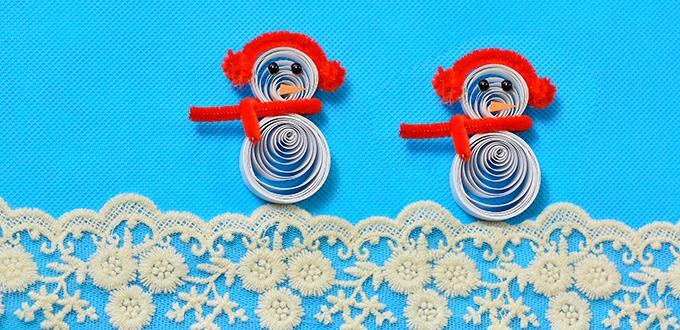Christmas Diy Ideas How To Make Paper Quilling Snowman Crafts For