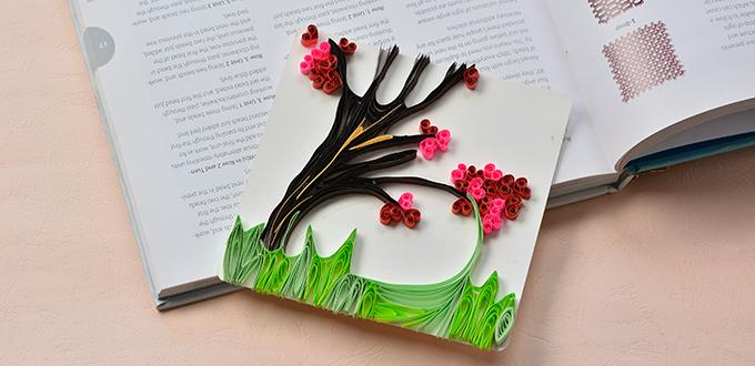 quilling designs step by step
