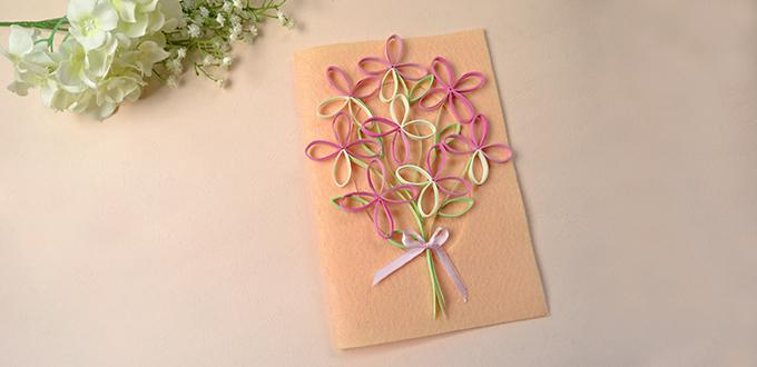 How to make a handmade tree quilling paper greeting card for how to make a handmade tree quilling paper greeting card for mothers day m4hsunfo