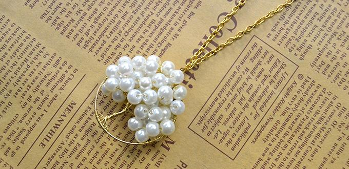 Pandahall Tutorial - How to Make Your Own Homemade Pearl Tree Pendant Necklace
