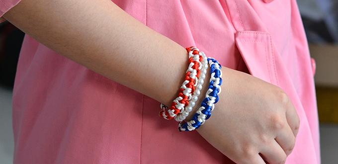 Video Tutorial on Making Charming Personalized Nylon Thread Braided Bracelet