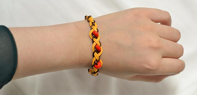 Bracelet making ideas with string