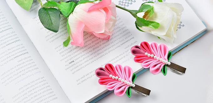Make This: Paper Flower Hair Accessory DIY | Flower hair ... | 330x680