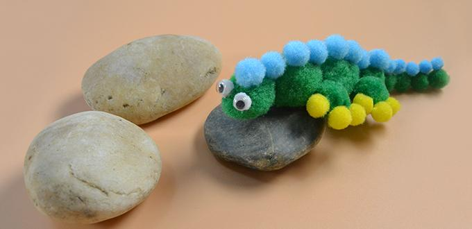 How to Make Cute Crocodile Pattern Crafts for Kids
