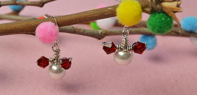 How to Make a Pair of Easy Mickey Beaded Drop Earrings for Beginners