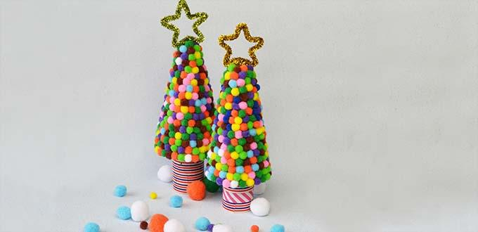 pandahall video tutorial how to diy cute handmade christmas tree decoration for kids - Christmas Decoration Video