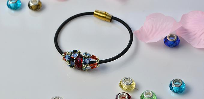 Pandahall Original Tutorial on How to Make Easy Stretch Band Bracelet with Beads