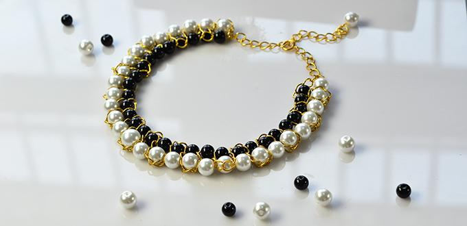 how to make pearl chain at home