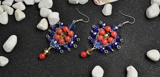 Pandahall Earrings Project-How to Make Glass and Jade Beads Earrings
