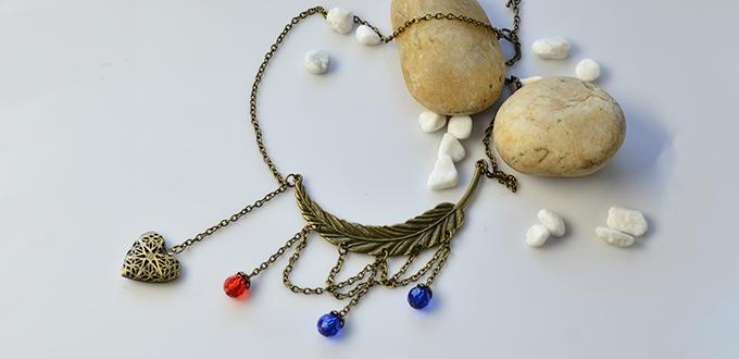Pandahall Original DIY Project – How to Make a Tibetan Style Beads and Chain Necklace