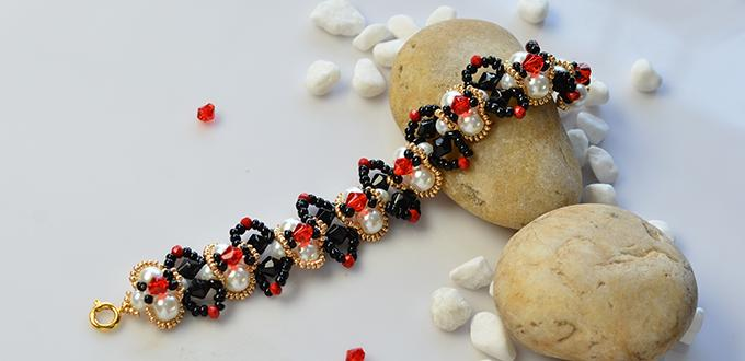 PandaHall Video Tutorial on Making a Delicate Beaded Bracelet