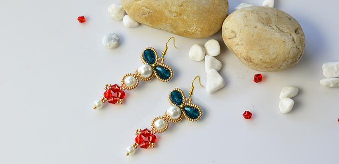 Dedicate DIY Project on Making Vintage–style Seed Bead Pendant Earrings