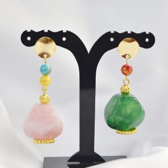 PandaHall Ideen auf Acryl Candy Ohrringe