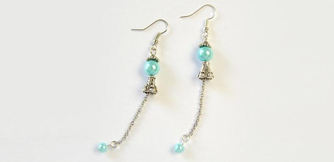 Beebeecraft Tutorials on Making Elegant Pearl Earrings