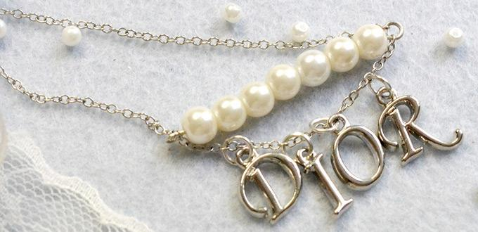 Beebeecraft Tutorials on Making Letter Pearl Necklace