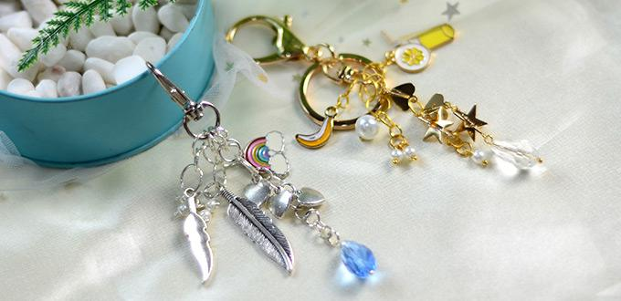 Beebeecraft Tutorials on How to Make Cute Key Chains