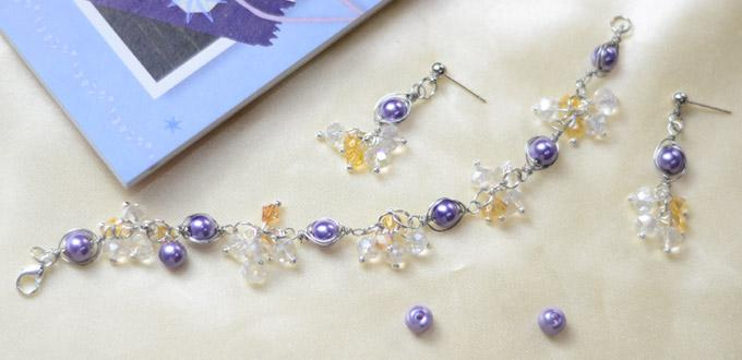 Beebeecraft Tutorials on How to Make Pearl Bracelet