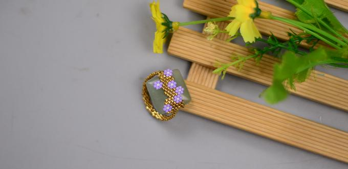 Beebeecraft Tutorials on How to Make Wisteria Ring