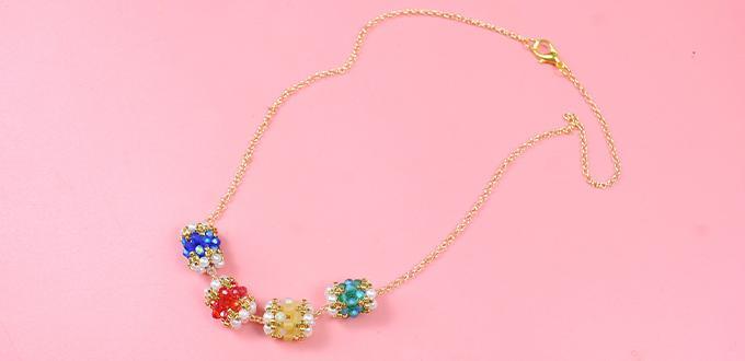 Beebeecraft Tutorials on How to Make Vogue Necklace