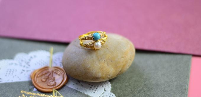 Beebeecraft Tutorials on How to Make Wrapped Ring