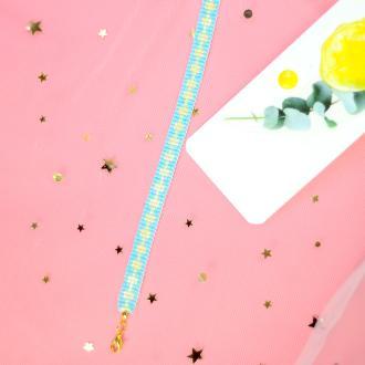 PandaHall Idea On Charming Blue&Yellow Seed Beaded Bracelet