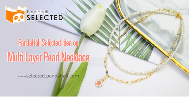 PandaHall Selected Idea on Multi Layer Pearl Necklace